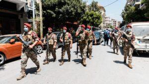 Die Armee versucht die Ruhe in Beirut wiederherzustellen