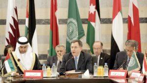 Fouad Siniora in seiner Zeit als libanesischer Ministerpräsident