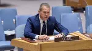 Israels Botschafter bei der UNO, Gilad Erdan