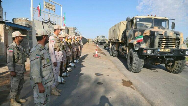 Iranische Manöver an der Grenze zu Aserbaidschan sorgen für Verstimmung zwischen den Ländern
