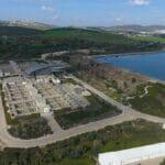 """Eines der größten Wasserreservoirs der Israel Water Company ist das """"Eshkol Reservoir"""""""