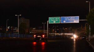 Stromausfall in der Hauptstadt des Libanon, Beirut