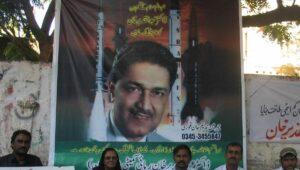 "Der als ""Vater der pakistanischen Atombombe"" bekannt gewordene Atomingenieur Abdul Qadeer Khan"