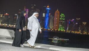 Nur etwas über 10% der Einwohner Katars haben überhaupt Wahlrecht