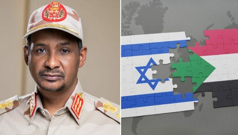 War Berichten zufolge auf Geheimbesuch in Israel: Mohamed Hamdan Dagalo