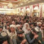Taliban-Innenminister besucht Zeremonie zur Ehrung von Selbstmordattentätern