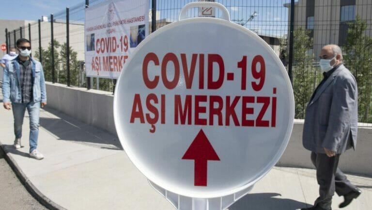 Dislng sind rund 66% der Türken gegen Corona geimpft